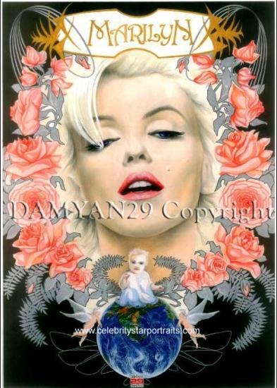 Marilyn Monroe by Damyan